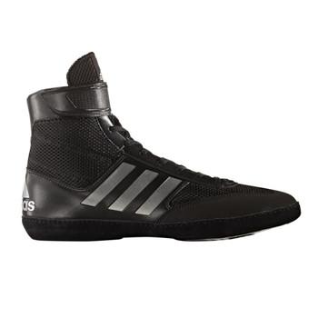 Adidas Combat Speed 5 Mens Wrestling Shoes BA8007 - Black / Silver