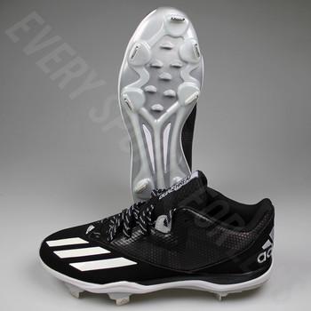 Adidas Dual Threat 2 Mens Baseball Cleats F37751 - Black, White, Silver
