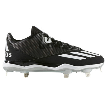 9067c5984147 Adidas Dual Threat 2 Mens Baseball Cleats F37751 - Black, White, ...