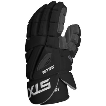 STX Stallion 500 Senior Lacrosse Gloves - Black
