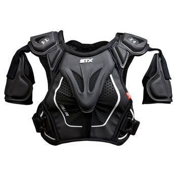 STX Stallion 500 Senior Lacrosse Shoulder Pads - Black