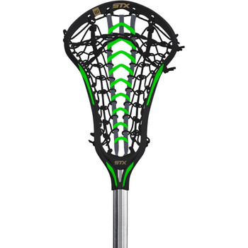 STX Crux 600 Women's Lacrosse Full Stick - Black, Lizard