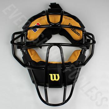Wilson Dyna-Lite Steel Baseball Catcher's Mask - Black