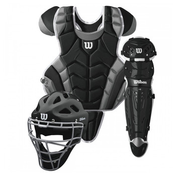 Wilson C1K Intermediate Baseball Catcher's Gear Kit