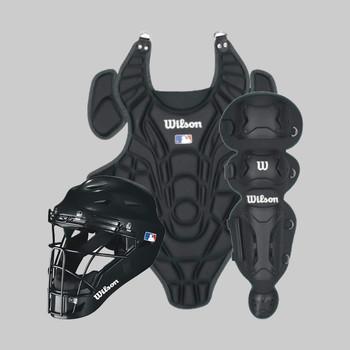Wilson EZ Baseball Youth Catchers Set - Large / X-Large | Black