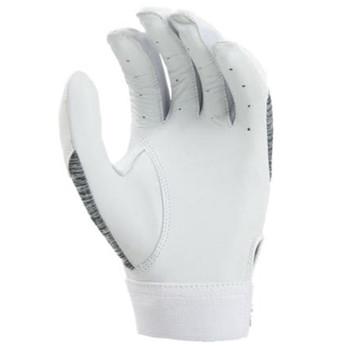 Rawlings Storm Womens' Softball Batting Gloves - White, Gray