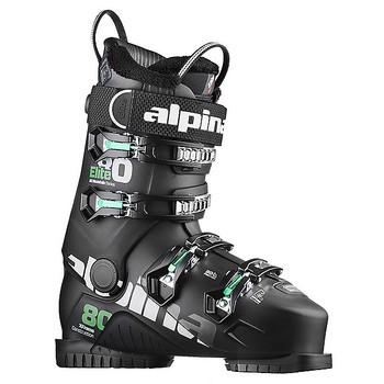 Alpina Elite 80 Heated Ski Boot - Black