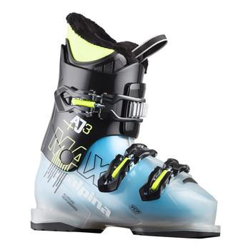 Alpina AJ3 MAX Junior Ski Boot - Black, Blue