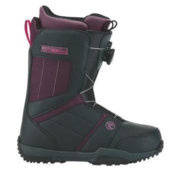 Flow Maya Boa Women's Snowboard Boots - Charcoal, Purple