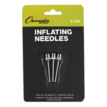 Champion Inflating Needles - 3 Pack