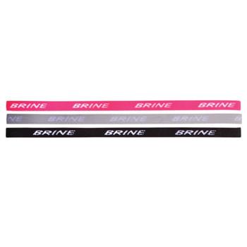 Brine Headband 3 Pack - Gray, Pink, Black