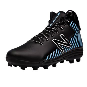 New Balance Rush Boys Lacrosse Cleats - Black