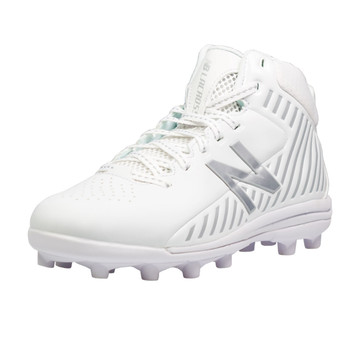 New Balance Rush Boys Lacrosse Cleats - White