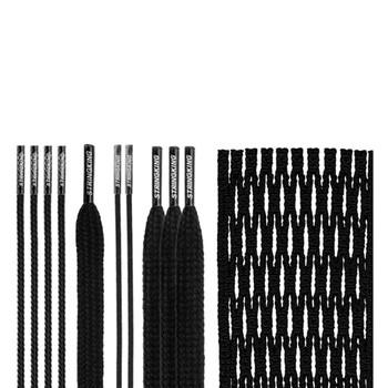 StringKing Lacrosse Type 3X Mesh Kit - Black