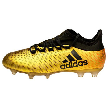 Adidas X 17.2 FG Men's Soccer Cleats CP9186 - Gold, Black, Red