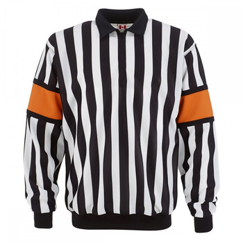 CCM Senior Hockey Referee Jersey Sewn-On Bands