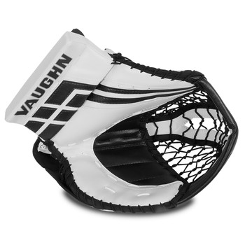Vaughn Velocity VE8 Goalie Catch Glove - White, Black