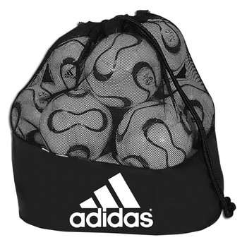 Adidas Stadium Ball Bag - Black, White