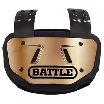 Battle Chrome Youth Football Back Plate - Various Colors