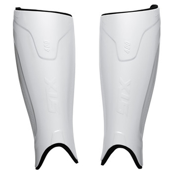 STX Stallion 400 Senior Field Hockey Shin Guards - White