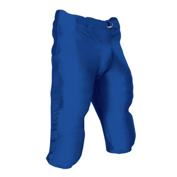 Champro Terminator Youth Football Pant with Pads - Royal