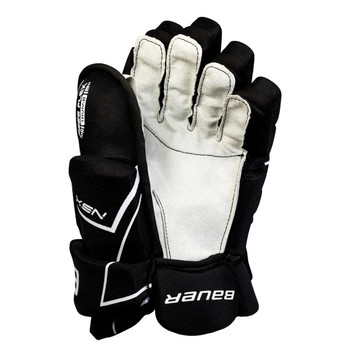 Bauer S18 NSX Senior Hockey Gloves - Black