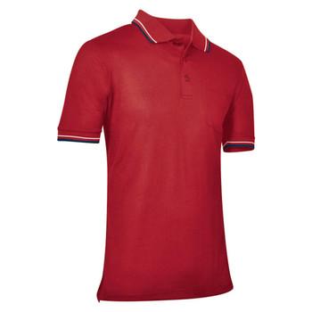 Champro Baseball Umpire Adult Polo Shirt - Red