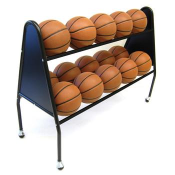 Trigon Sports ProCage 2-Tier Heavy Duty Ball Rack