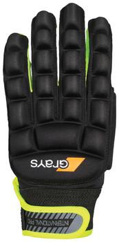 Grays International Pro Right Hand Glove - Black/Neon Yellow