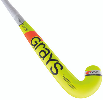 Grays GX6000 Goalie Pro Field Hockey Stick - Neon Yellow
