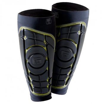 G-Form Pro S Elite Adult Soccer Shin Pads - Black, Yellow