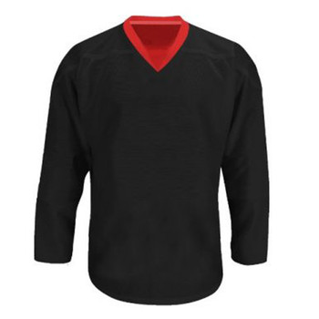 Troy Hockey Reversible Junior Hockey Jersey - Black, Red