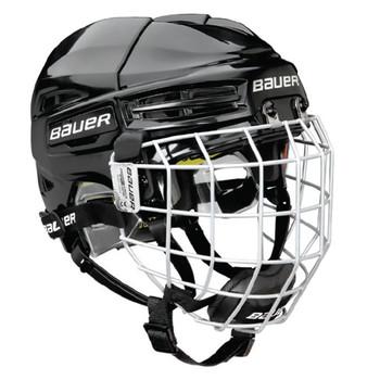 Bauer Re-AKT 100 Youth Combo Hockey Helmet