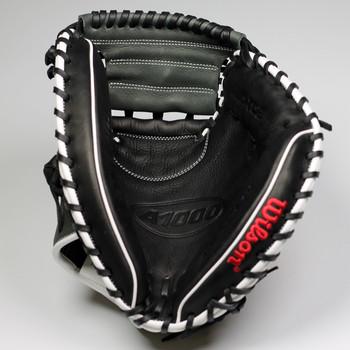 "Wilson A1000 19CM33 WTA10RB19CM33 33"" Catcher's Baseball Mitt - Right Hand Throw"