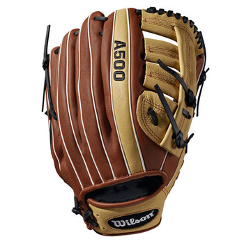 """Wilson A500 19125 12.5"""" All Positions Youth Baseball Glove"""