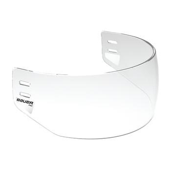 Bauer PRO Senior Half Shield Visor - Clear