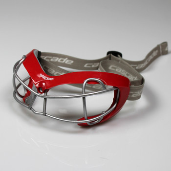 Cascade Poly Arc Lacrosse / Field Hockey Goggles - Red