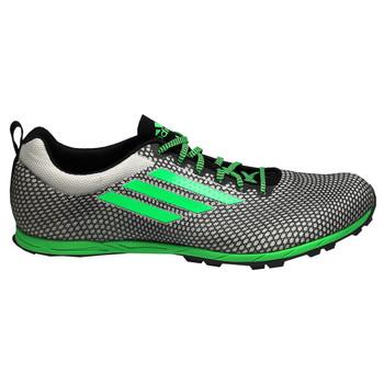 Adidas XCS 6 Men's Track Shoes B23479 - Black, Green, White