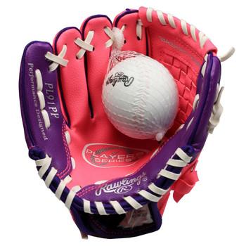 "Rawlings Players Series PL91PP 9"" Tee Ball Softball Glove"