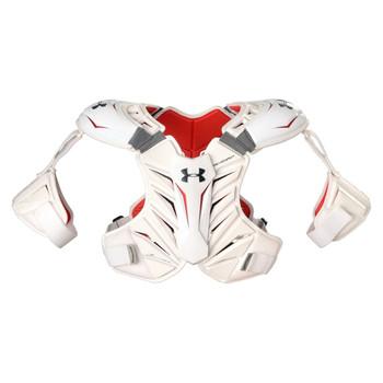 Under Armour Revenant Men's Lacrosse Shoulder Pad - White