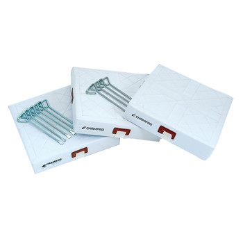 Champro PVC Cover 3 Piece Base Set - White