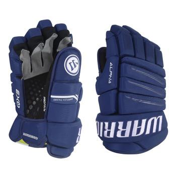"Warrior Alpha QX3 14"" Senior Ice Hockey Gloves"
