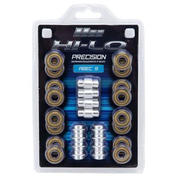 Mission Hi-LO ABEC 9 608 Inline/ Roller Hockey Skates Wheel Bearings