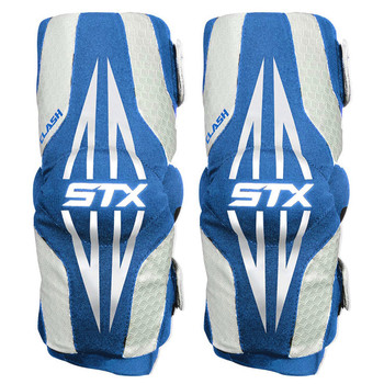 STX Clash Junior Lacrosse Arm Pads - Royal