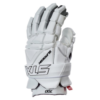 STX Surgeon 700 Men's Lacrosse Gloves - White
