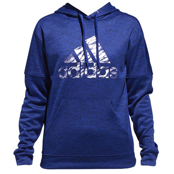 Adidas Badge of Sport Camo Women's Hoodie CX5126 - Mystery Ink