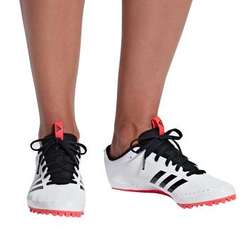 Adidas Sprintstar Women's Track Shoes F36070 - White, Black, Red