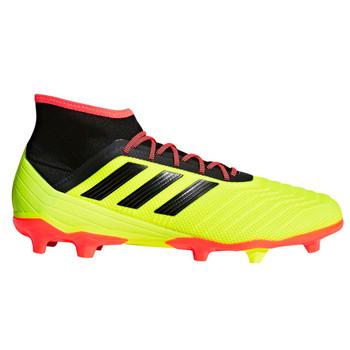 Adidas Predator 18.2 FG Men's Soccer Cleats DB1997 - Yellow, Black, Red