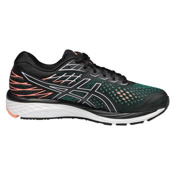 Asics Gel Cumulus 21 Women's Running Sneakers - Black, Sun Coral