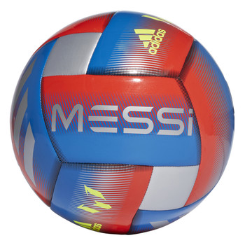 Adidas Messi Capitano Soccer Ball DN8737 - Blue, Red, Silver